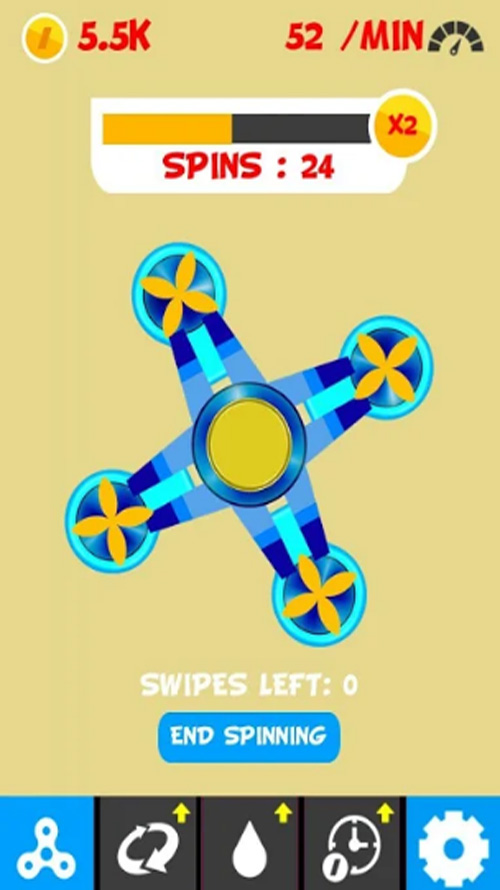 Fidget Spinner Without Ads